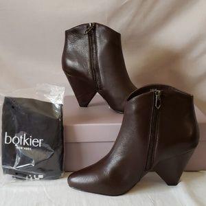 New Botkier Isabel Pointed Toe Mocha Leather